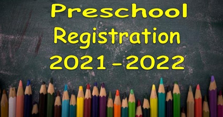 Hillcrest Preschool Registration 2021-2022