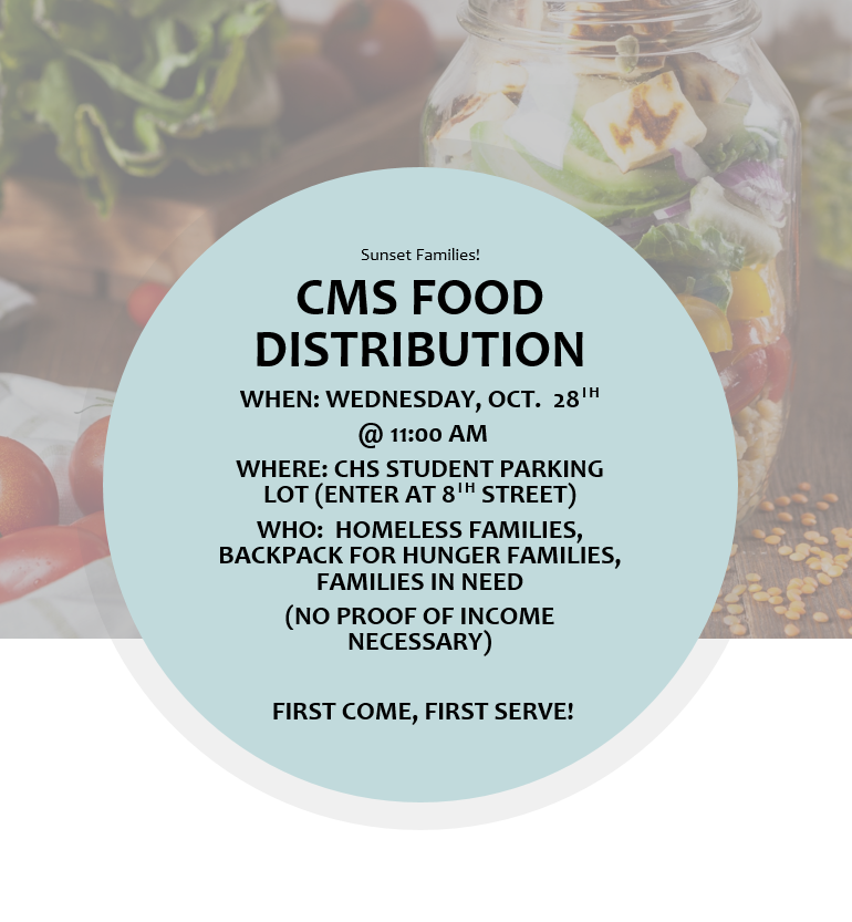Oct Food Distribution