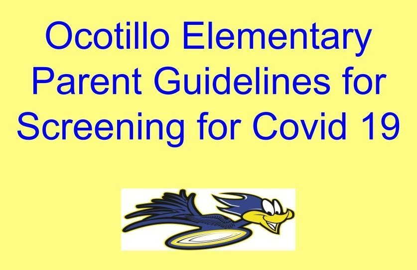 Covid - 19 Screening for Parents