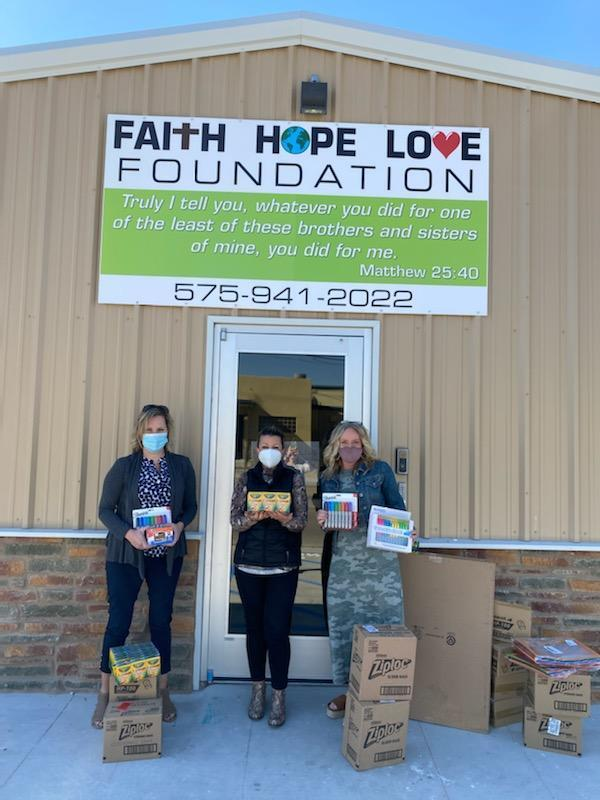 Faith, Hope, and Love Foundation Donation