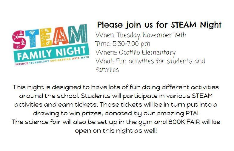 Annual STEAM Family Night