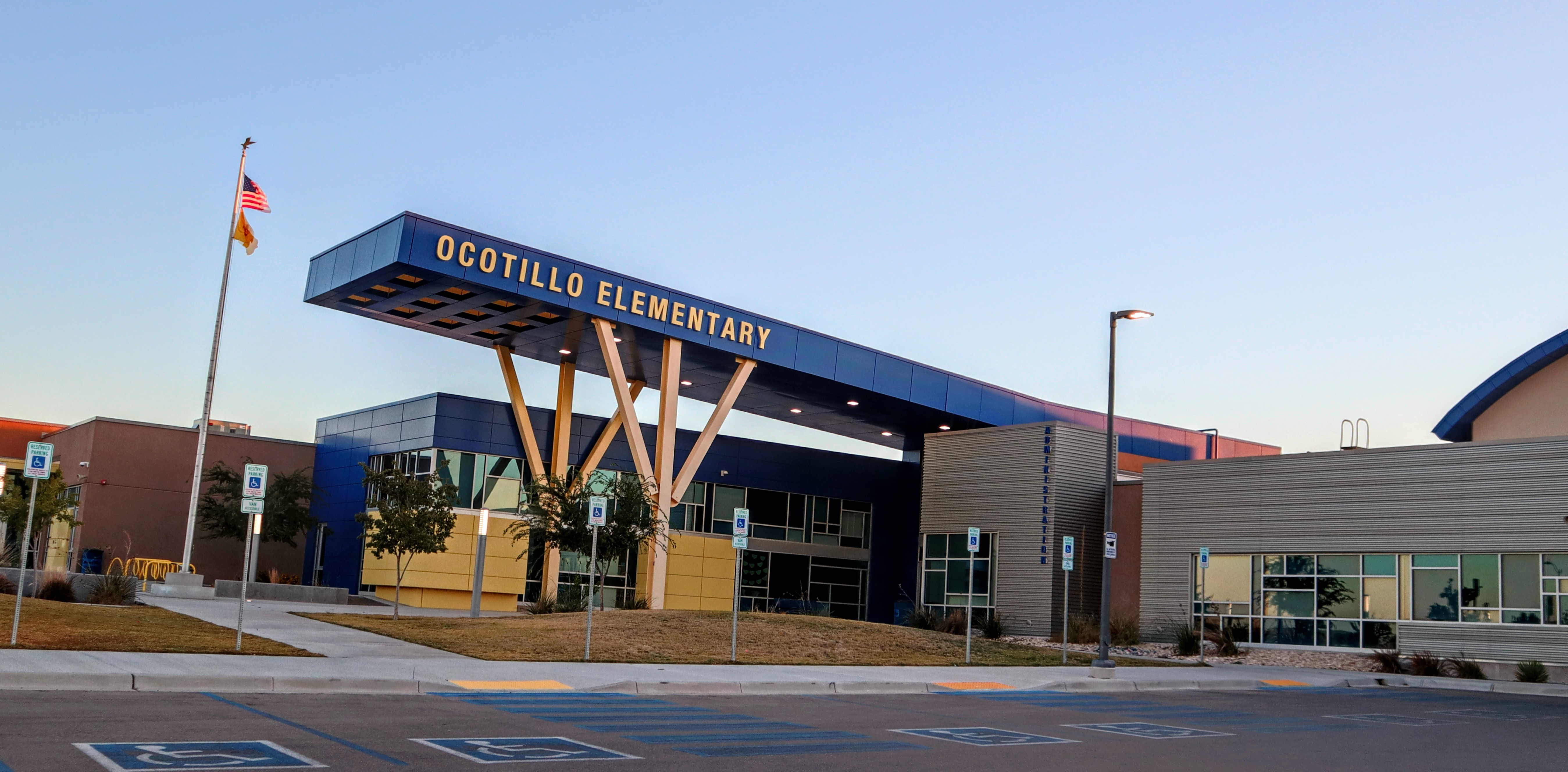 Entrace to Ocotillo Elementary