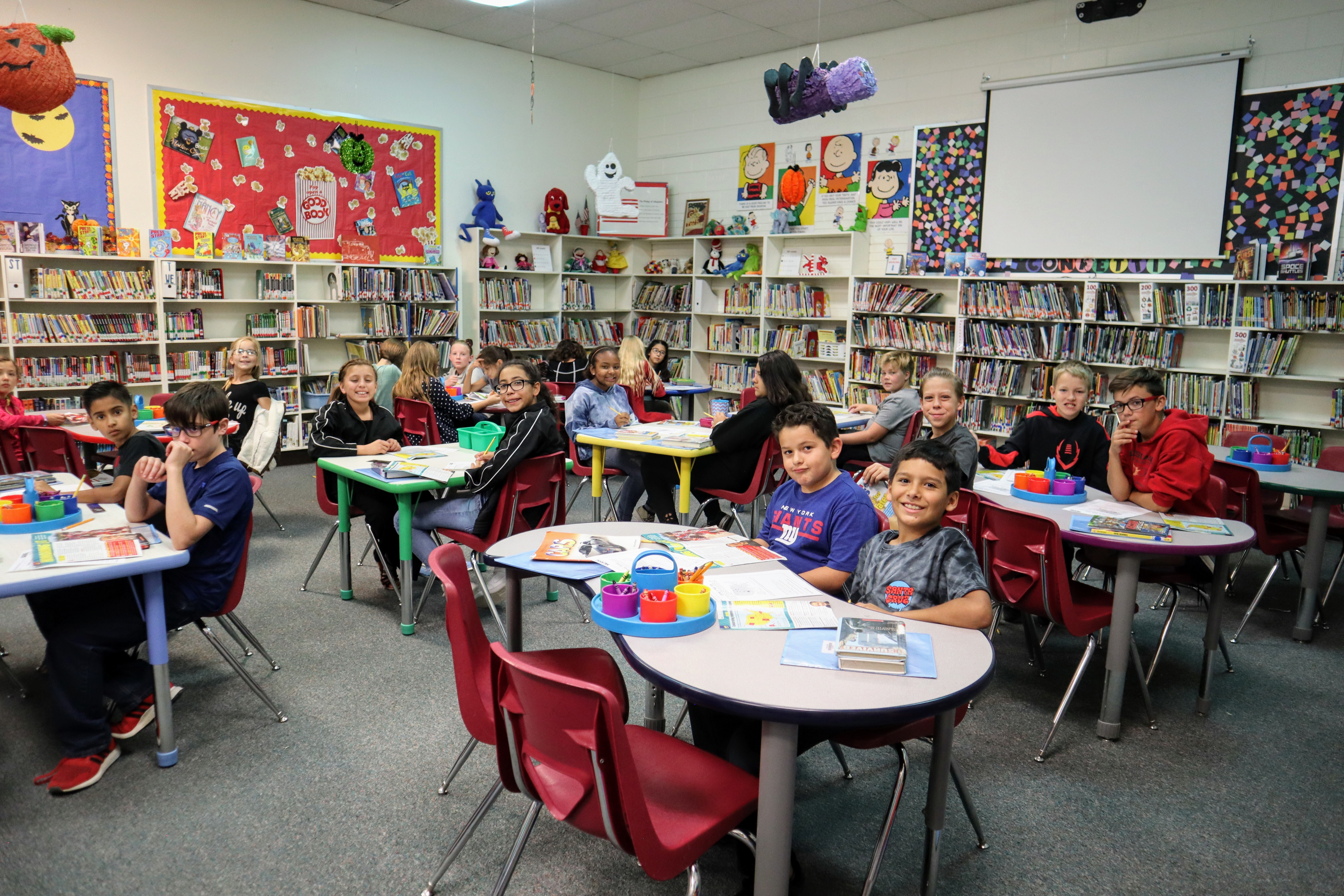 Students at Monterrey Elementary